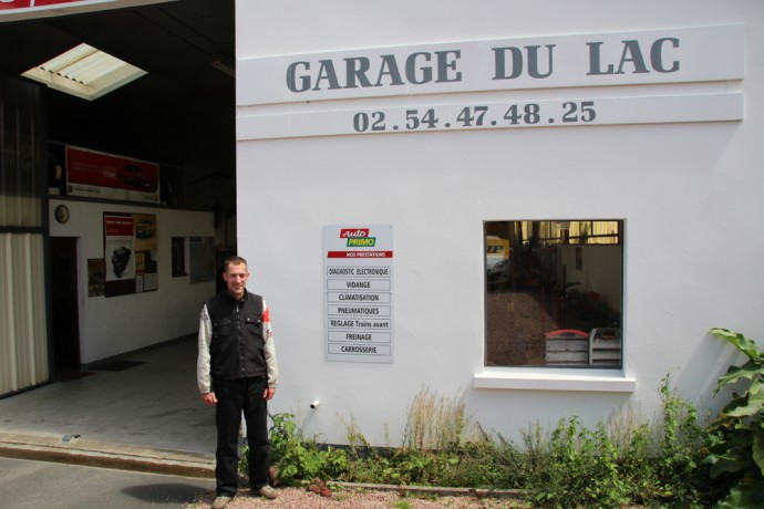 Victor Hebert - Le Garage du Lac - Éguzon