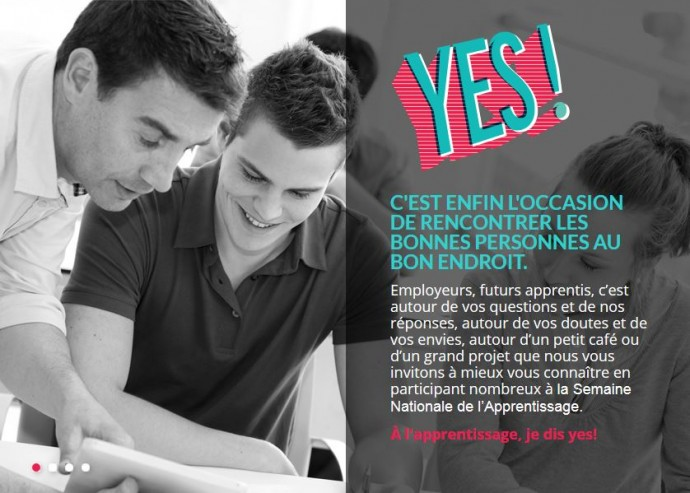 Semaine Nationale de l'Apprentissage 2015