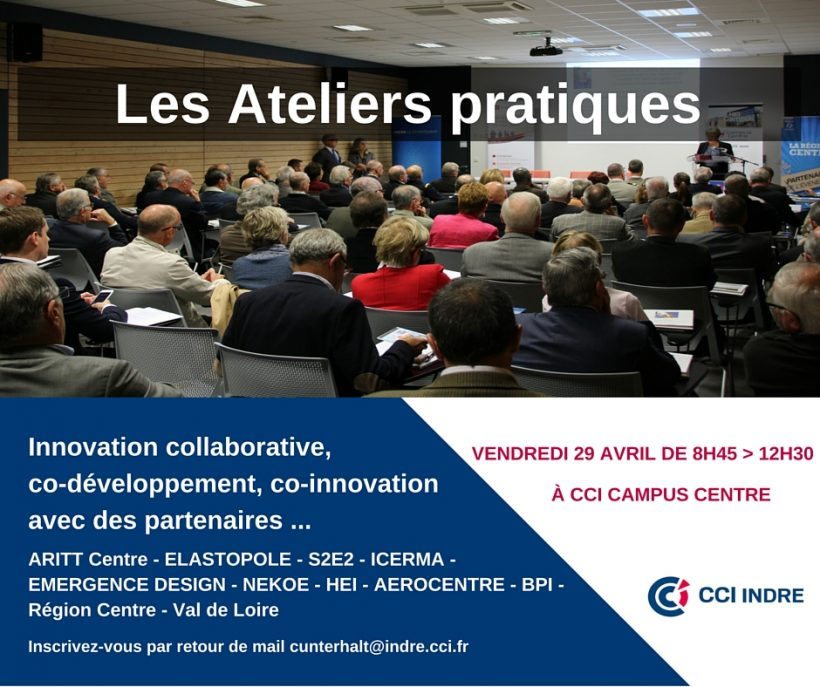 Ateliers pratiques - L'innovation collaborative - CCI Indre